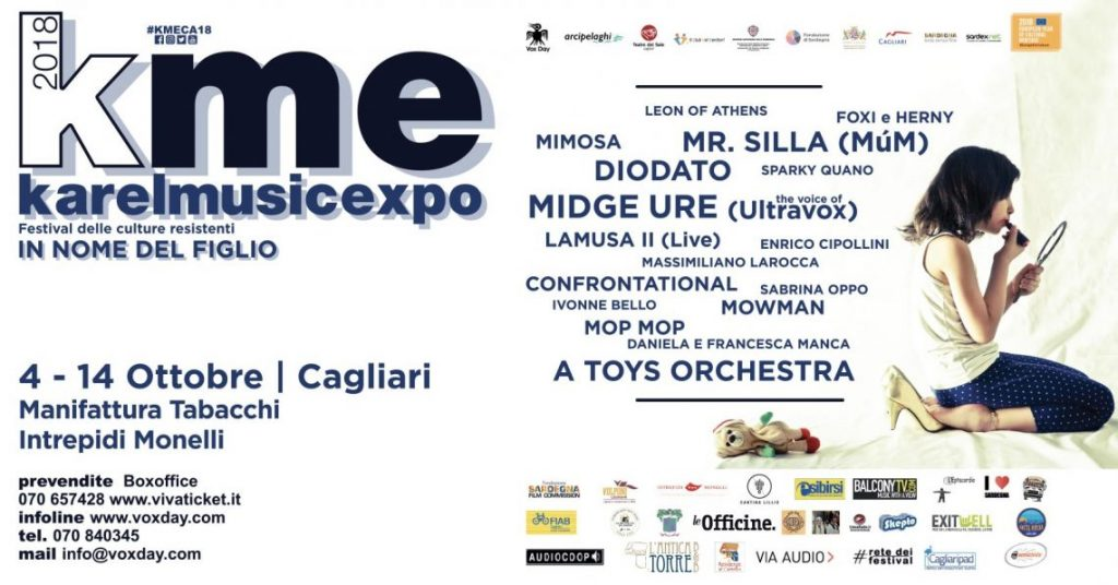 kme 2018 - vox day - karel music expo - karel - sa scena sarda