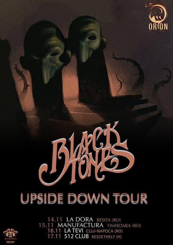 blacktones - upside down tour - orion music agency - sa scena sarda