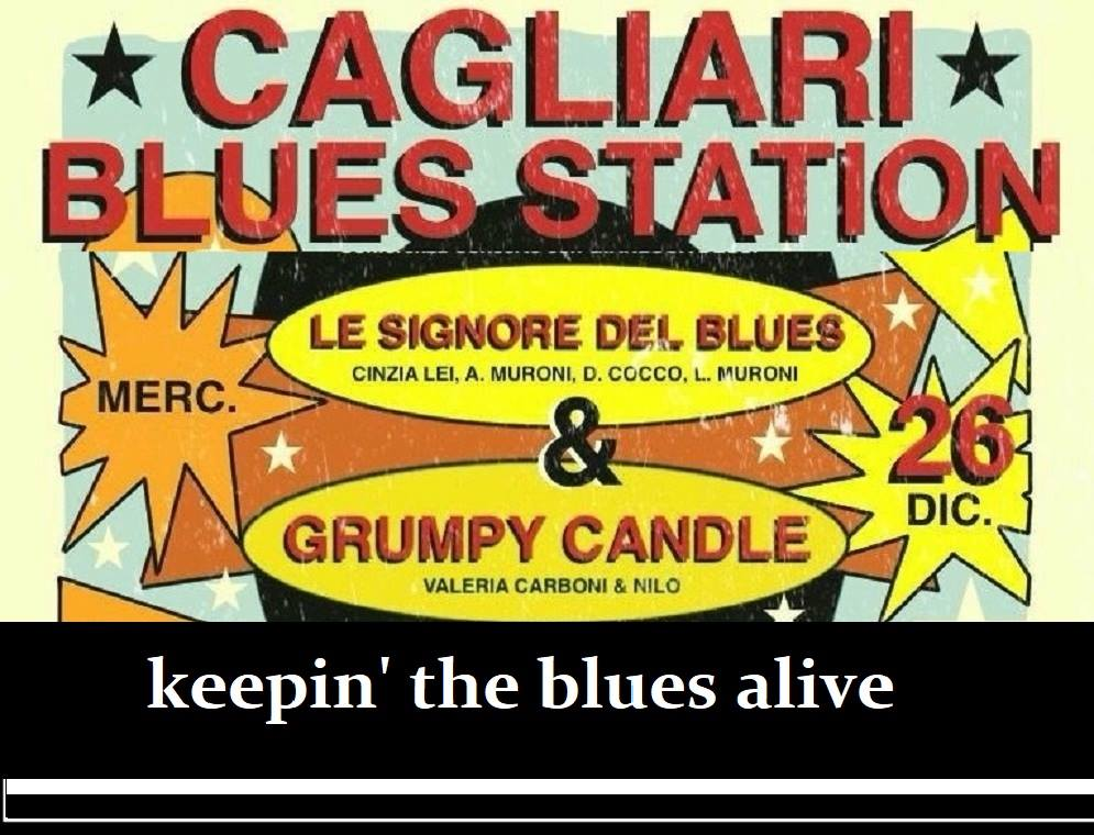 cagliar blue station festival - 26 dicembre - le signore del blues - sa scena sarda - la musica in sardegna