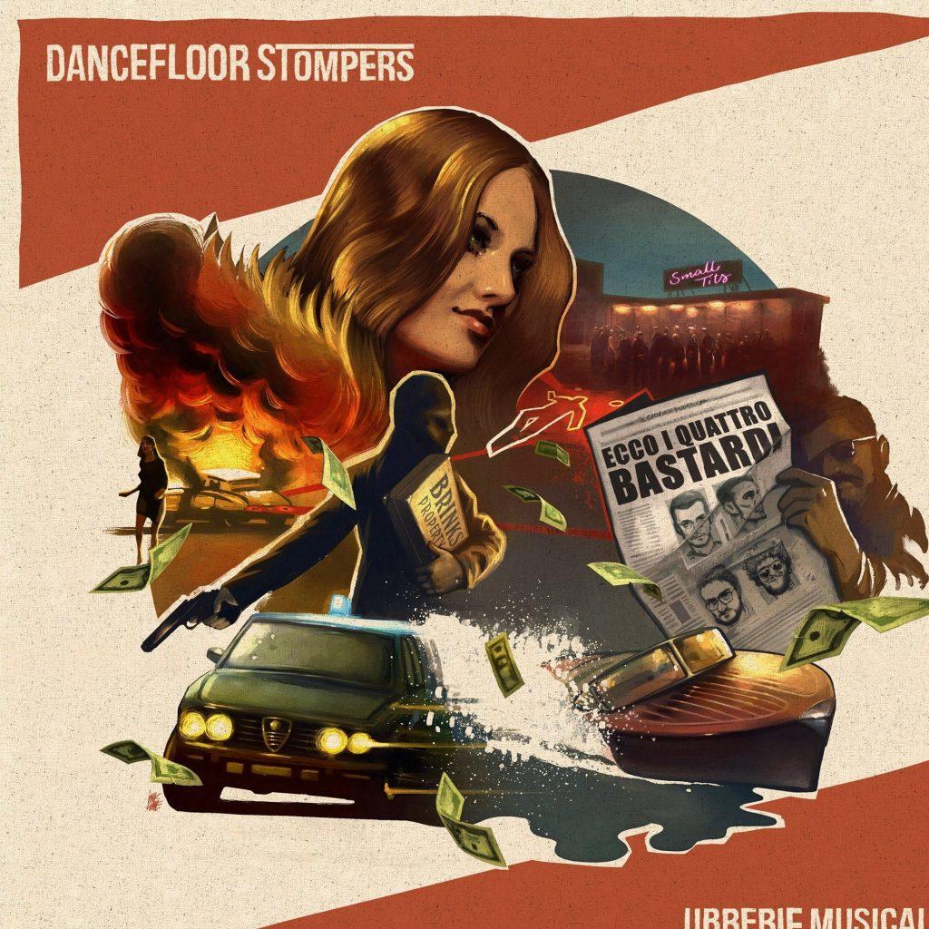 dancefloor stompers - librerie musicali - four flies records - inkline - solid twin studio - sa scena sarda