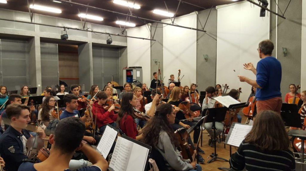 the travelling orchestra - conservatorio musicale - malaga  - cagliari - poitiers - sa scena sarda
