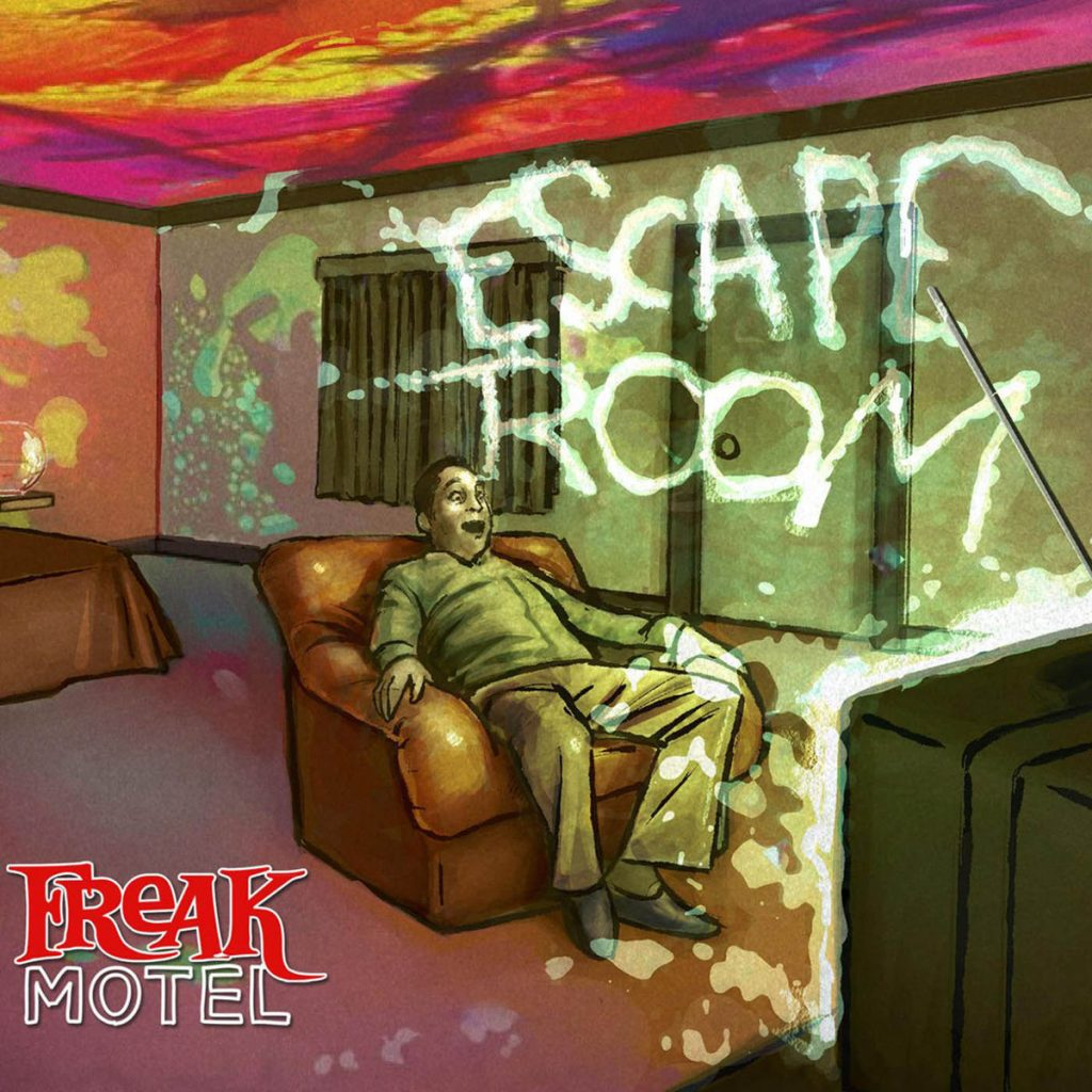 freak motel - escape room - sa scena sarda - 2019