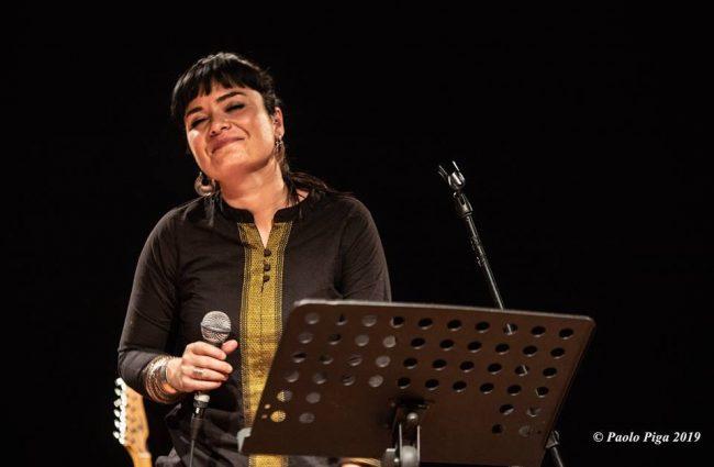 Cllaudia Aru - Mattep Lepne Live - Ex-Vetreria - Paolo Piga - 2019 - live report - Sa Scena Sarda
