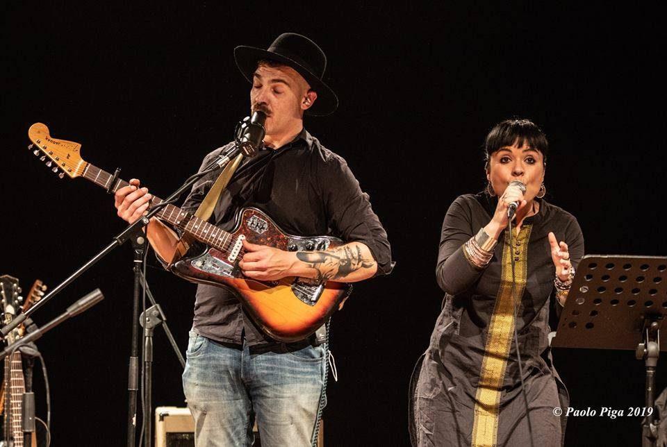 Matteo Muntoni & Claudia Aru - Mattep Lepne Live - Ex-Vetreria - Paolo Piga - 2019 - live report - Sa Scena Sarda