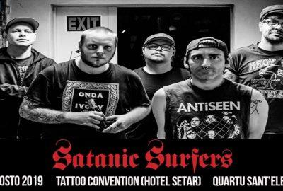 satanic surfers - padrini - sangue - tatto convention - sa scena sarda - 2019 - hotel setar - quartu sant'elena