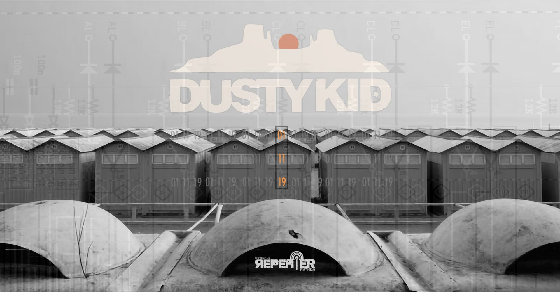 Repeater - Dusty Kid - Old Square - Cagliari - 1 novembre - 2019 - eventi - 2019 - Sa Scena Sarda