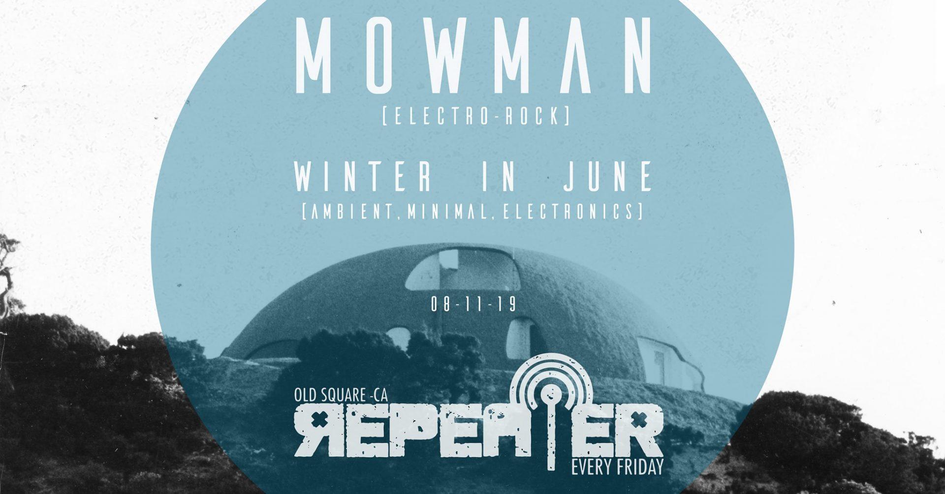 Repeater - Mowman - Old Square - Cagliari - 8 novembre - 2019 - eventi - 2019 - Sa Scena Sarda