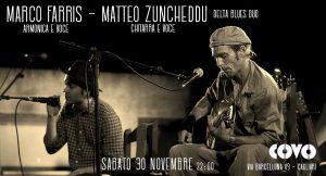 Reelly the Blues - Marco Farris - Matteo Zuncheddu - Covo Art Café - Cagliari - 30 novembre 2019 - eventi - 2019 - Sa Scena Sarda