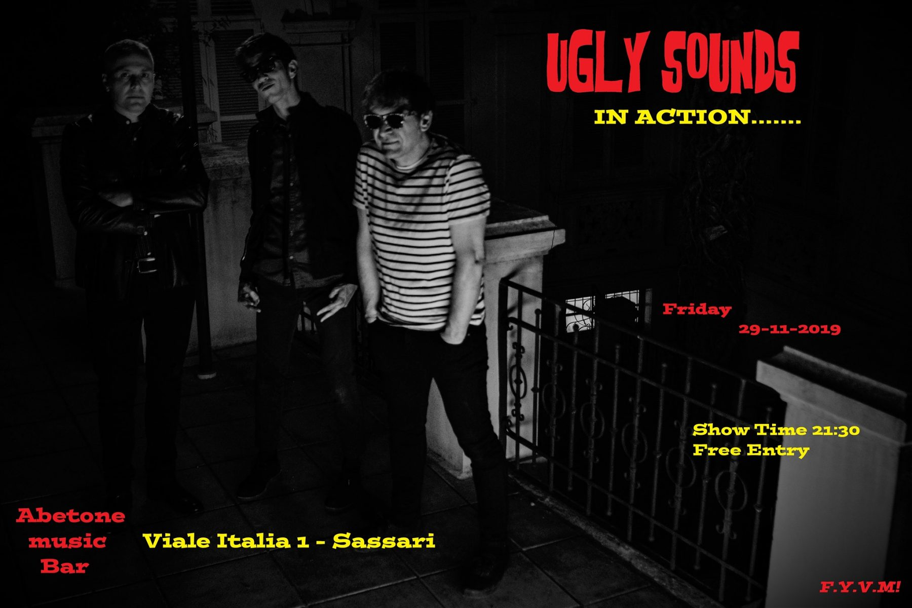 Abetone Friday Night - Ugly Sounds - Abetone Music Bar - Sassari - 29 novembre 2019 - eventi - 2019 - Sa Scena Sarda