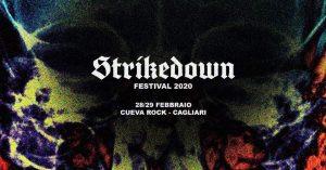 strikedown fest - cueva - 2020 - quartucciu - sa scena sarda - 28 febbraio