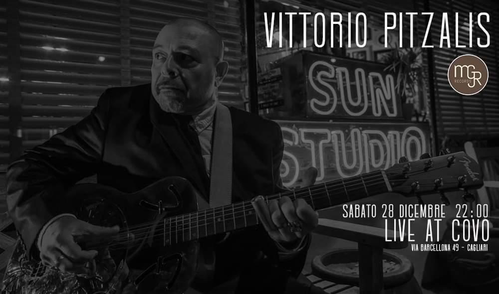 Reelly the Blues - Vittorio Pitzalis - Covo Art Café - Cagliari - 28 dicembre 2019 - eventi - 2019 - Sa Scena Sarda