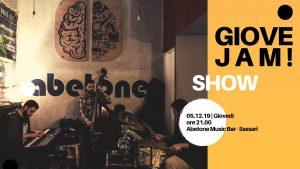 Giovejazz - GioveJam! - Abetone Music Bar - Sassari - 5 dicembre 2019 - eventi - 2019 - Sa Scena Sarda