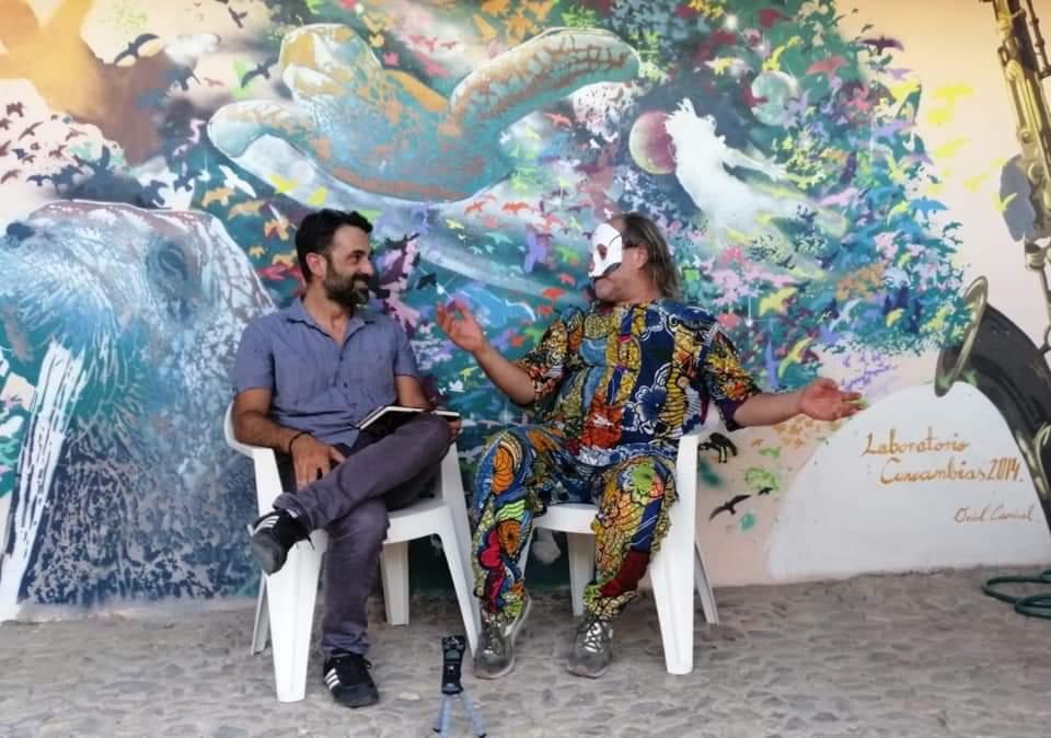 Sa Scena incontra Davide Toffolo - Davide Toffolo - Tre Allegri Ragazzi Morti - Simone La Croce - Cuncambias Festival - Teatro Antas - San Sperate - Sa Scena Sarda - 2020