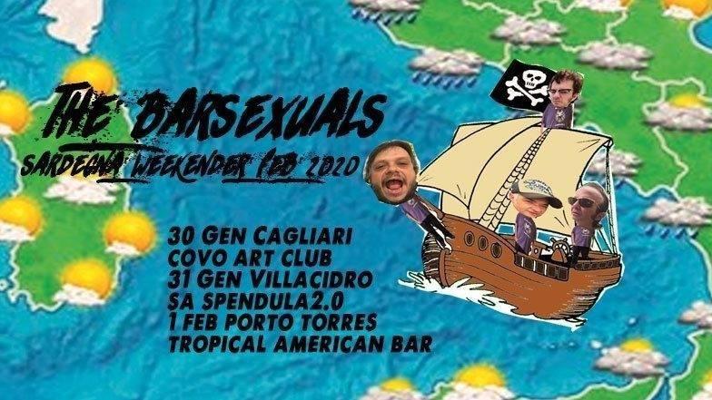 Fuzzbeat - The Barsexuals - Tropical American Bar - Porto Torres - 1 febbraio 2020 - eventi - 2020 - Sa Scena Sarda