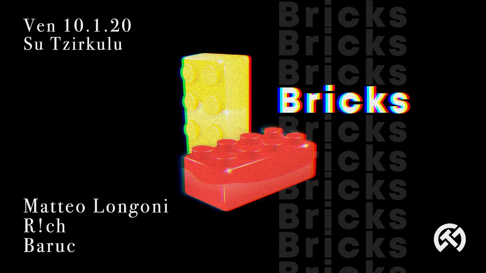 Bricks - 5 - Su Tzirculu - Cagliari - 10 gennaio 2020 - eventi - 2020 - Sa Scena Sarda