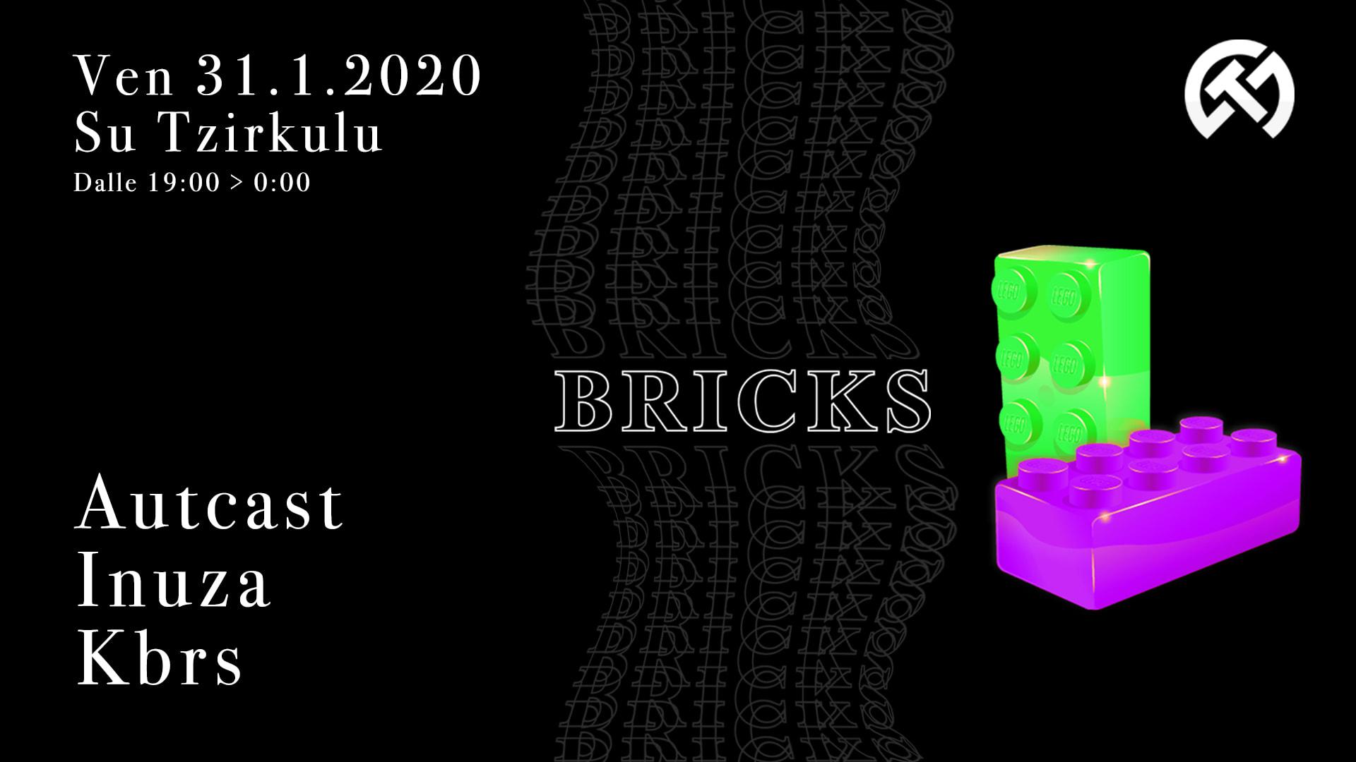 Bricks - 6 - Su Tzirculu - Cagliari - 31 gennaio 2020 - eventi - 2020 - Sa Scena Sarda