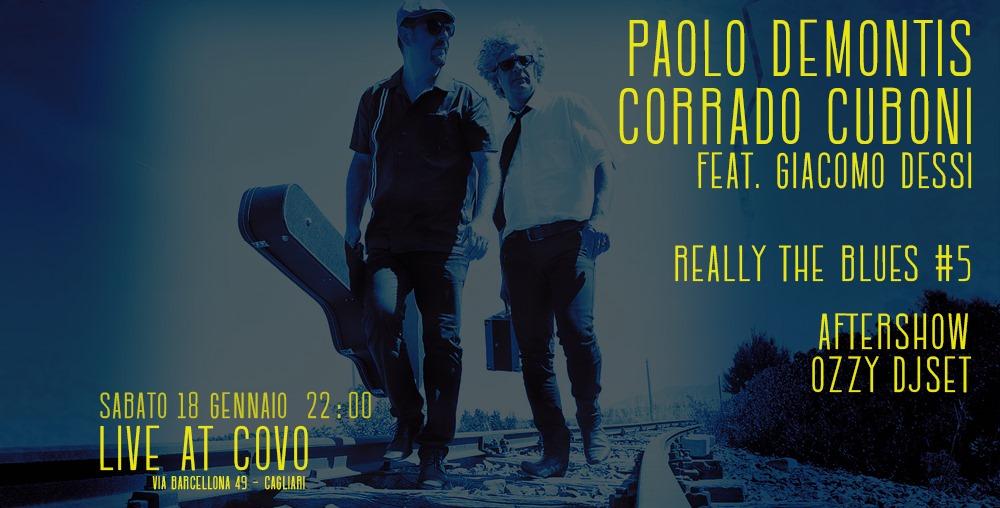 Reelly the Blues - Paolo Demontis - Corrado Cuboni - Covo Art Café - Cagliari - 18 gennaio 2020 - eventi - 2020 - Sa Scena Sarda