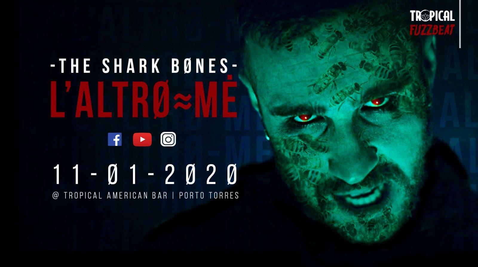 Fuzzbeat - The Shark Bones - Tropical American Bar - Porto Torres - 11 gennaio 2020 - eventi - 2020 - Sa Scena Sarda
