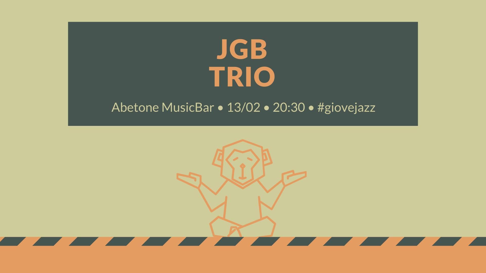 Giovejazz - JGB Trio - Abetone Music Bar - Sassari - 13 febbraio 2020 - eventi - 2020 - Sa Scena Sarda