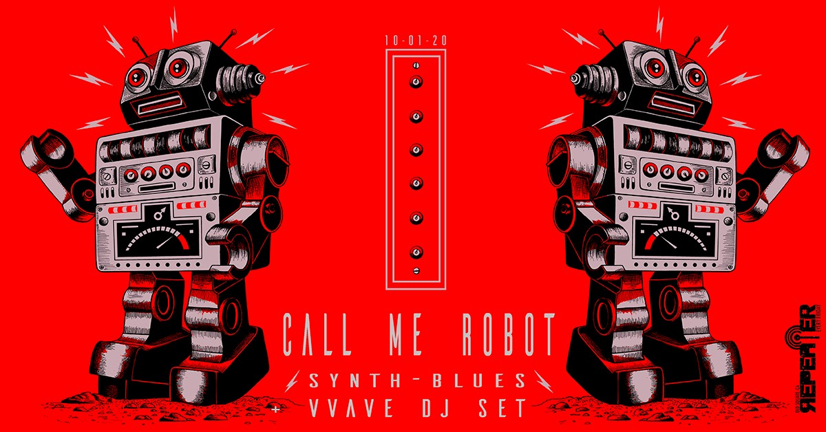 Repeater - Call Me Robot - Old Square - Cagliari - 10 gennaio 2020 - eventi - 2020 - Sa Scena Sarda