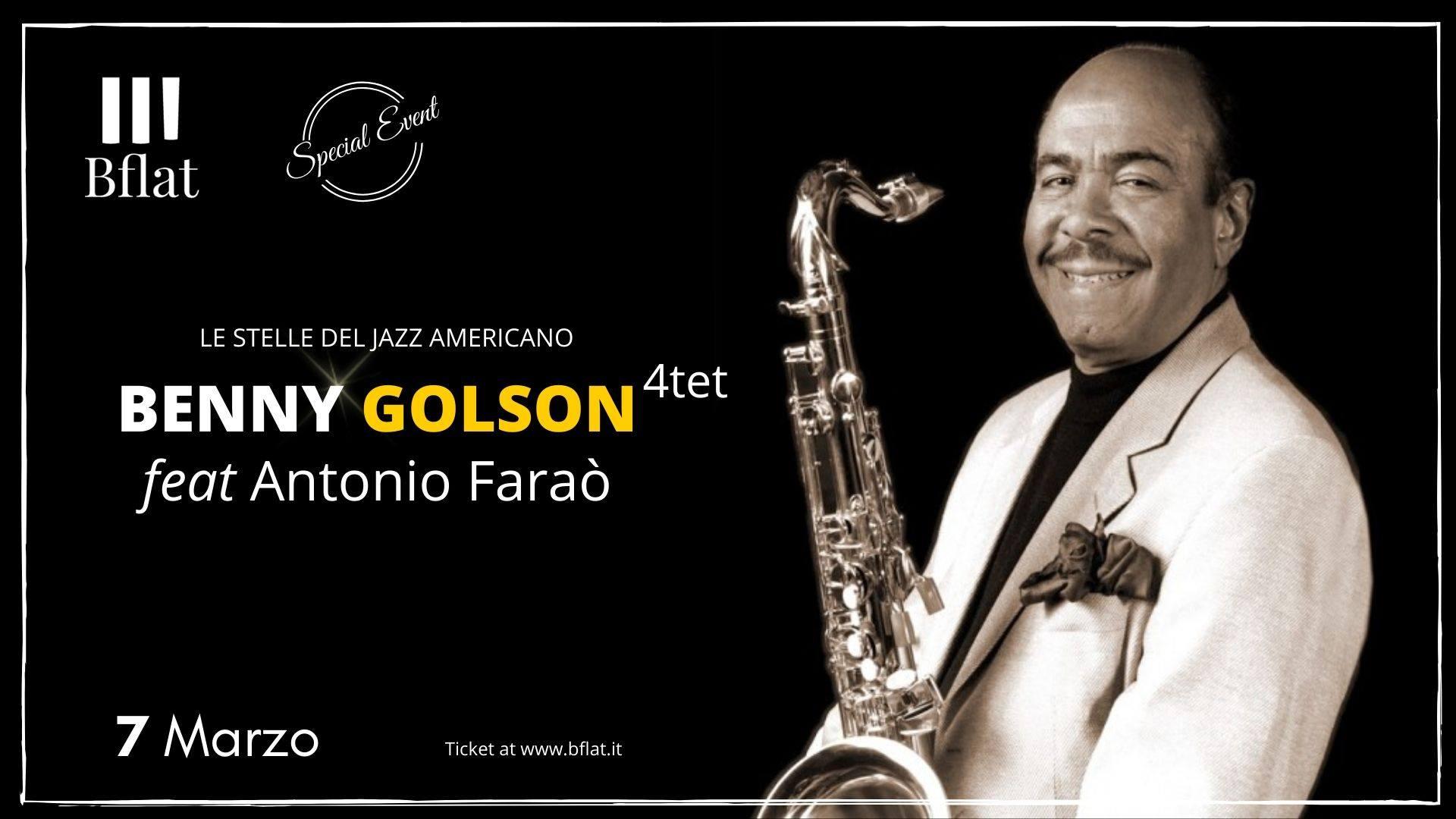 Special Event - Benny Golson Quartet - Antonio Farao - Bflat - Cagliari - 7 marzo 2020 - eventi - 2020 - Sa Scena Sarda