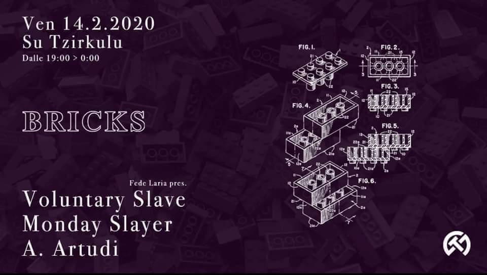 Bricks - 7 - Su Tzirculu - Cagliari - 14 febbraio 2020 - eventi - 2020 - Sa Scena Sarda