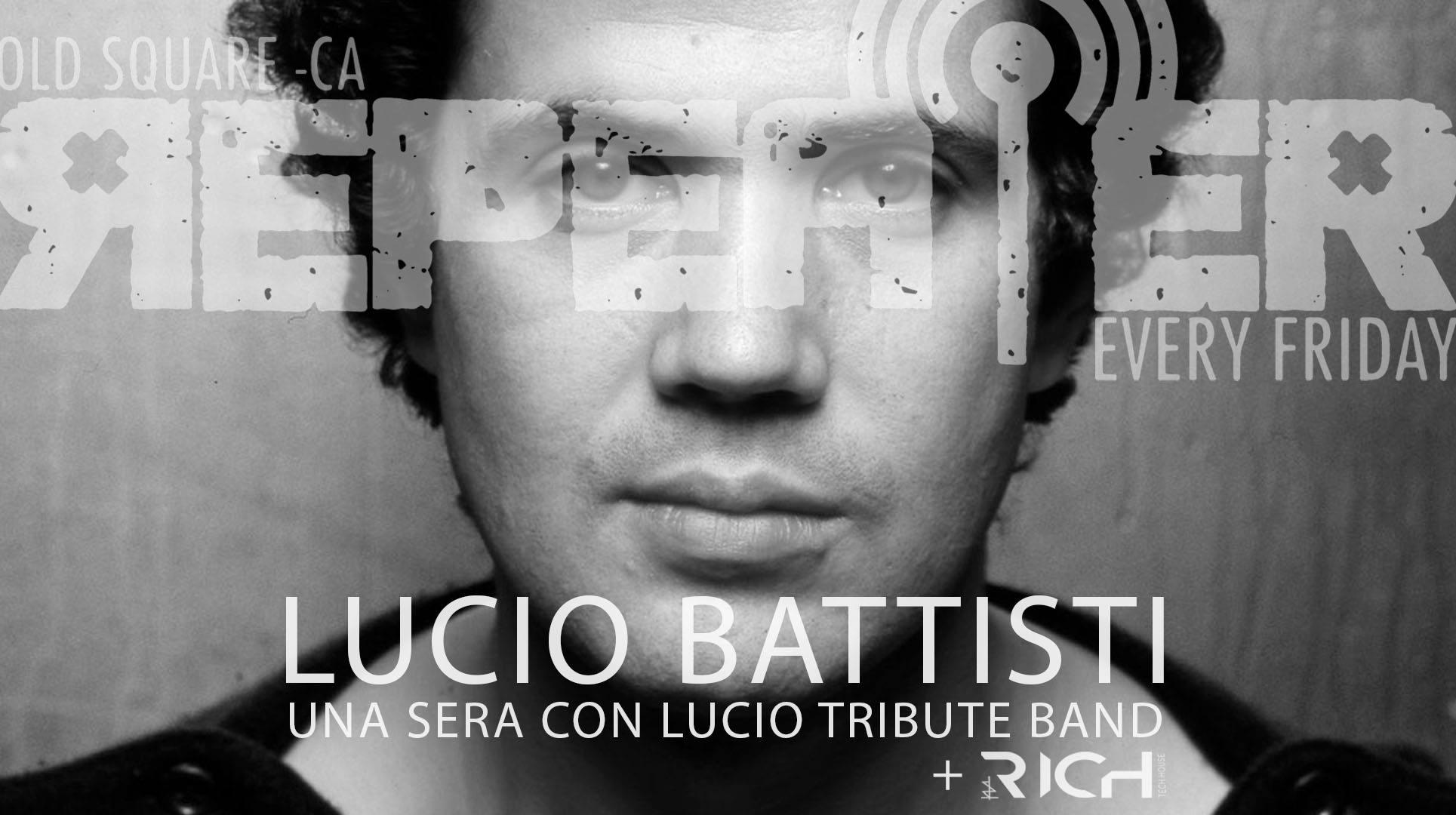 Repeater - Lucio Battisti - Una sera con Lucio - Lucio Battisti Tribute Band - Old Square - Cagliari - 7 febbraio 2020 - eventi - 2020 - Sa Scena Sarda