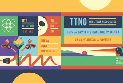 rite of spring festival - 2020 - piovono pietre - ttng - dags! - lazybones flame kids - sa scena sarda