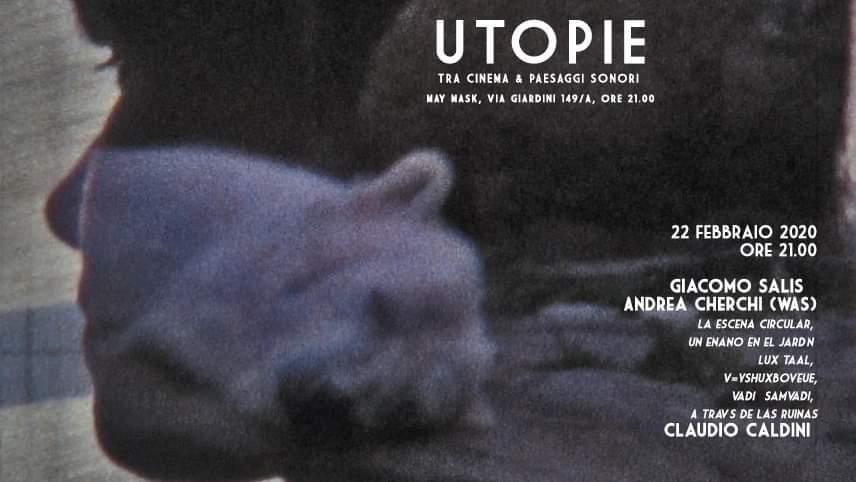 Utopie - 3 - Giacomo Salis - Andrea Cherchi - Caldini - May Mask - Cagliari - 22 febbraio 2020 - eventi - 2020 - Sa Scena Sarda