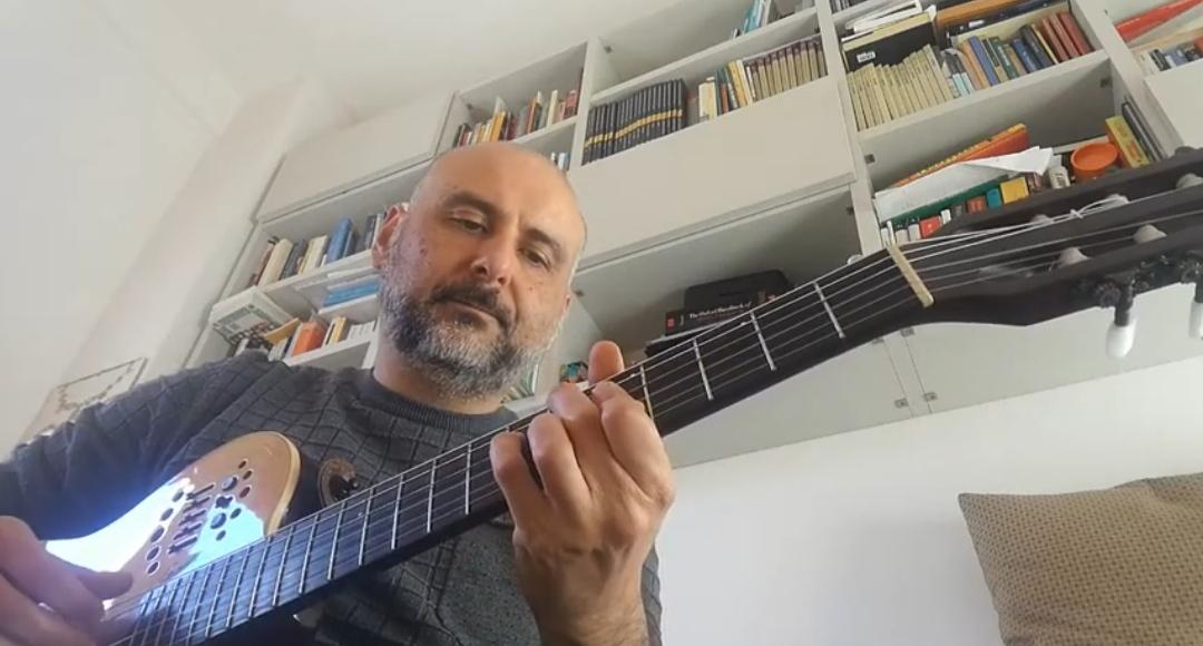 Gianfranco Cossu - cover - Apollo Beat - Luce - musicachenonsiferma - Angela Colombino - 2020 - Sa Scena Sarda
