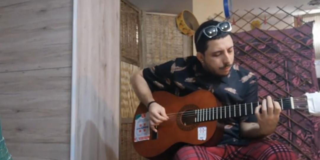 Stefano Bazzoni - Blackboard - cover - Mildred - Non lo dirò - musicachenonsiferma - Angela Colombino - 2020 - Sa Scena Sarda
