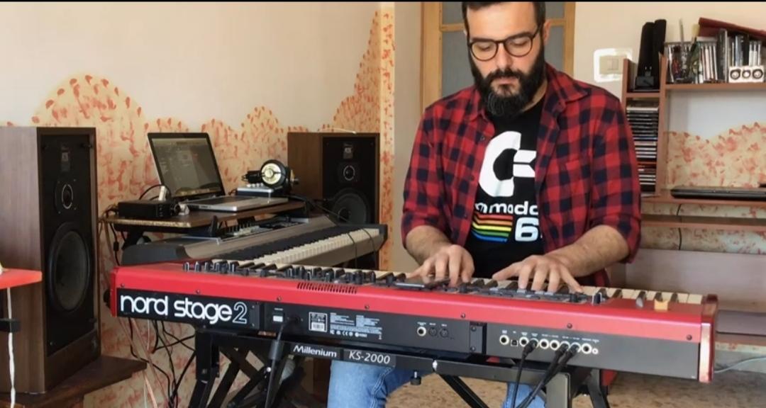 Gabriele Pedranghelu - cover - Federico Muzzi - America - musicachenonsiferma - Angela Colombino - 2020 - Sa Scena Sarda