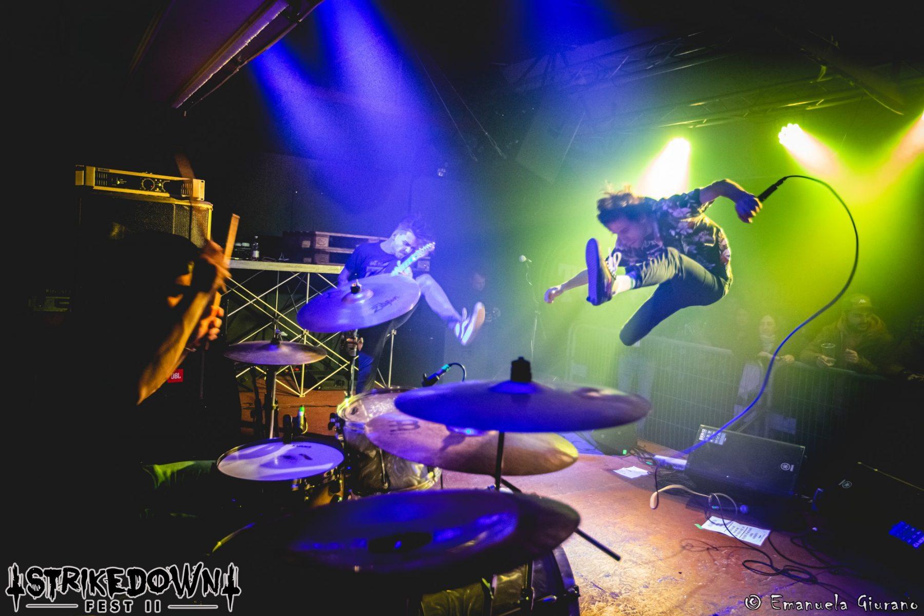 Regrowth - Strikedown Fest - Strikedown Festival Collective - Emanuela Giurano - Cueva Rock - 2020 - Sa Scena Sarda