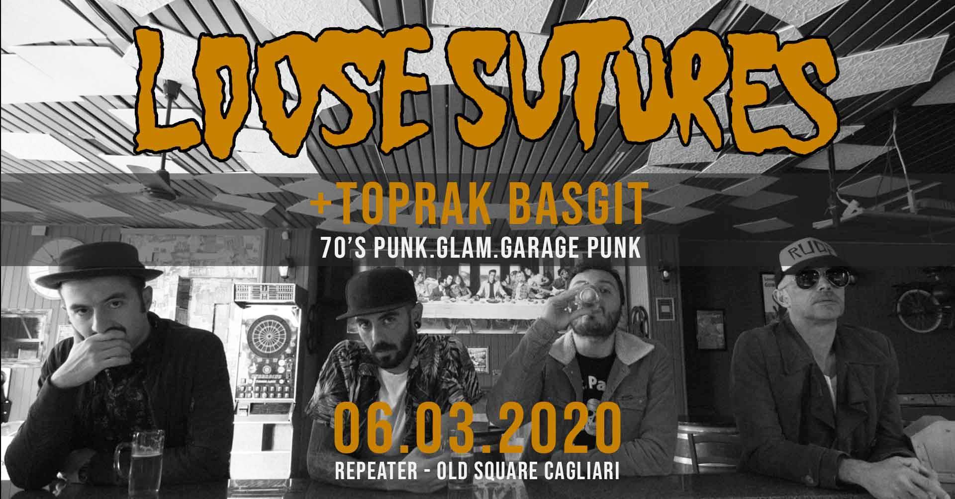Repeater - Loose Sutures - Old Square - Cagliari - 6 marzo 2020 - eventi - 2020 - Sa Scena Sarda