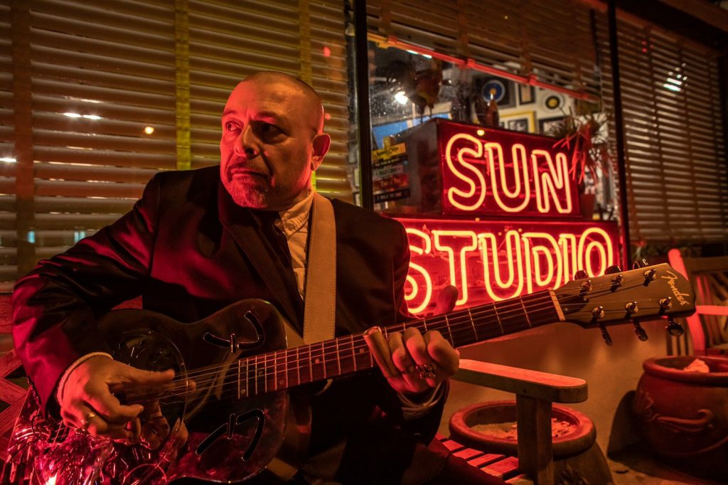 Vittorio Pitzalis - Andrea Jake Giacometti - interivista - Simone Murru - 2020 - Talkin' Blues - Sa Scena Sarda
