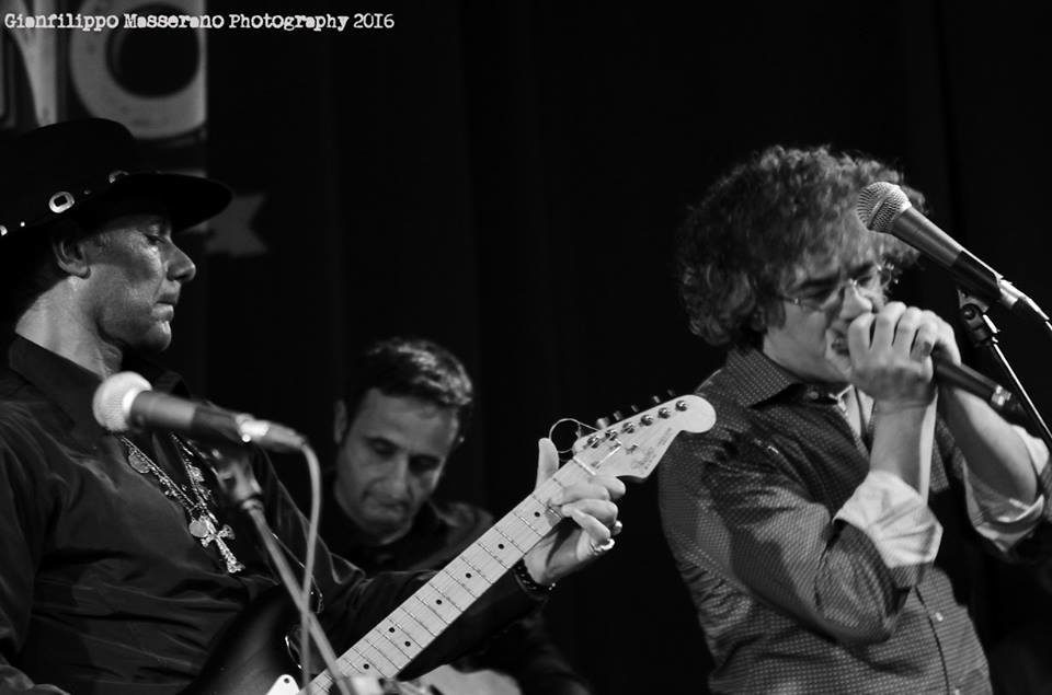 Paolo Demontis - Salvatore Amara & The Easy Blues Band - Gianfilippo Masserano - Talkin' Blues - Simone Murru - Intervista - Cagliari Blues Radio Station - Sa Scena Sarda - 10 maggio 2020