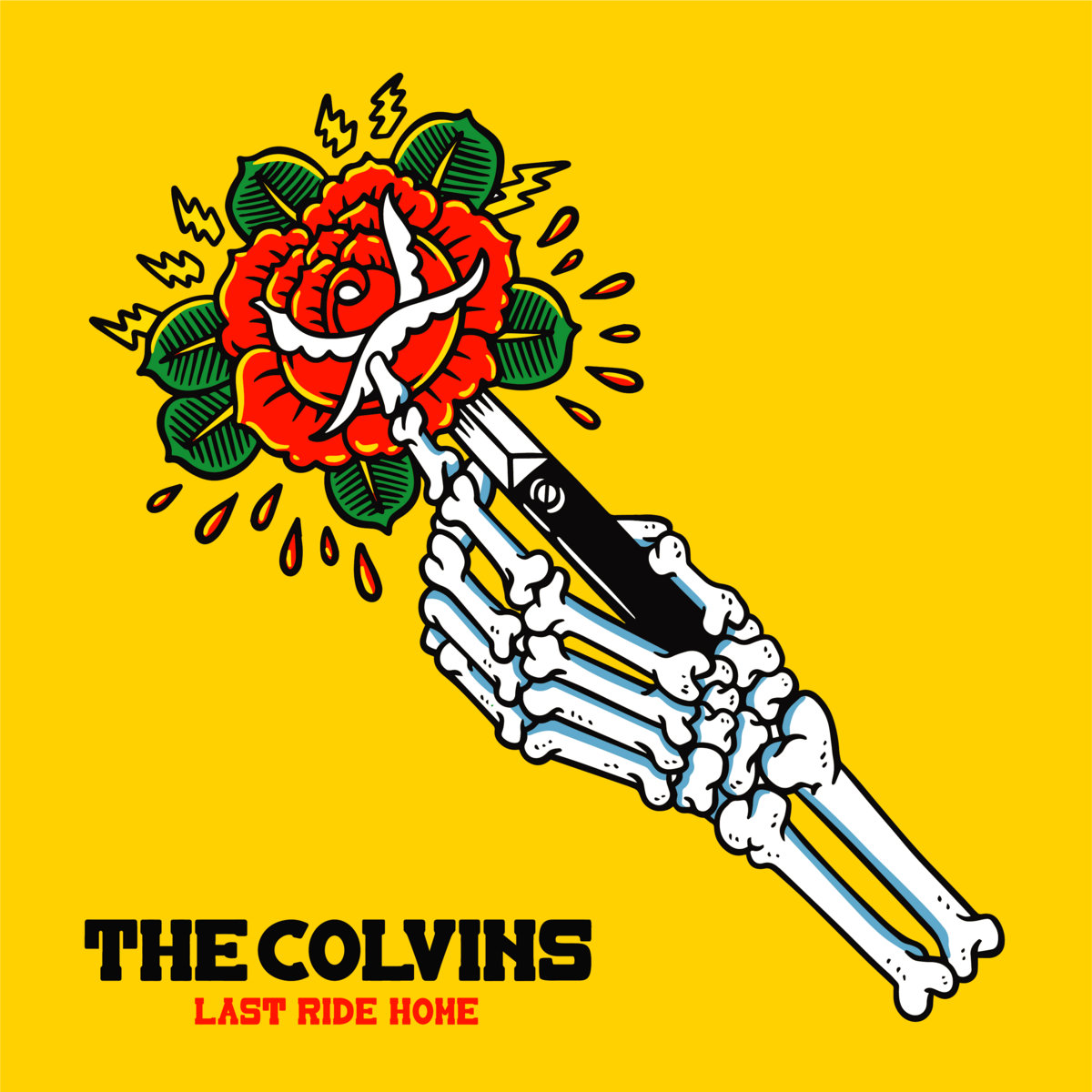 The Colvins - Last Ride Home - I buy Records - Bandcamp - player - 2020 - Sa Scena Sarda