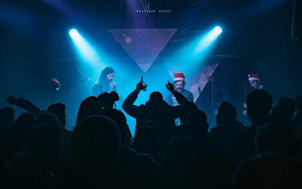 furgone hc - christmas stay - here i stay - 2019 - sa scena sarda - 2020 - cueva rock