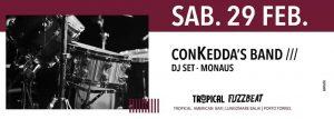 Fuzzbeat - ConKedda's Band - Tropical American Bar - Porto Torres - 29 febbraio 2020 - eventi - 2020 - Sa Scena Sarda