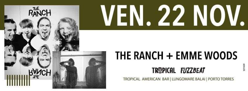 Fuzzbeat - The Ranch - Emme Woods - Tropical American Bar - Porto Torres - 22 novembre 2019 - eventi - 2019 - Sa Scena Sarda