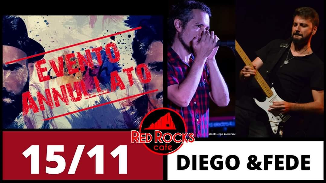 Autumn Friday Night Live - Jericho - annullato - Diego & Fede - nuovo - Red Rocks Café - Cagliari - 15 novembre 2019 - eventi - 2019 - Sa Scena Sarda