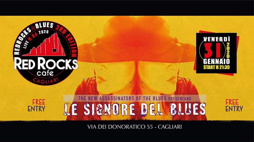 Red Rocks & Blues - Le Signore del Blues - Red Rocks Café - Cagliari - 31 gennaio 2020 - eventi - 2020 - Sa Scena Sarda