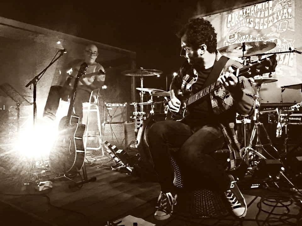 Alberto Murru - The Sharecroppers - Matteo Oggianu - Talkin' Blues - Simone Murru - Intervista - Cagliari Blues Radio Station - Sa Scena Sarda - 7 giugno 2020