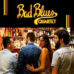 bad blues quartet, album 2017, eleonora usala, federico valenti, frank stara, alessandro loddo