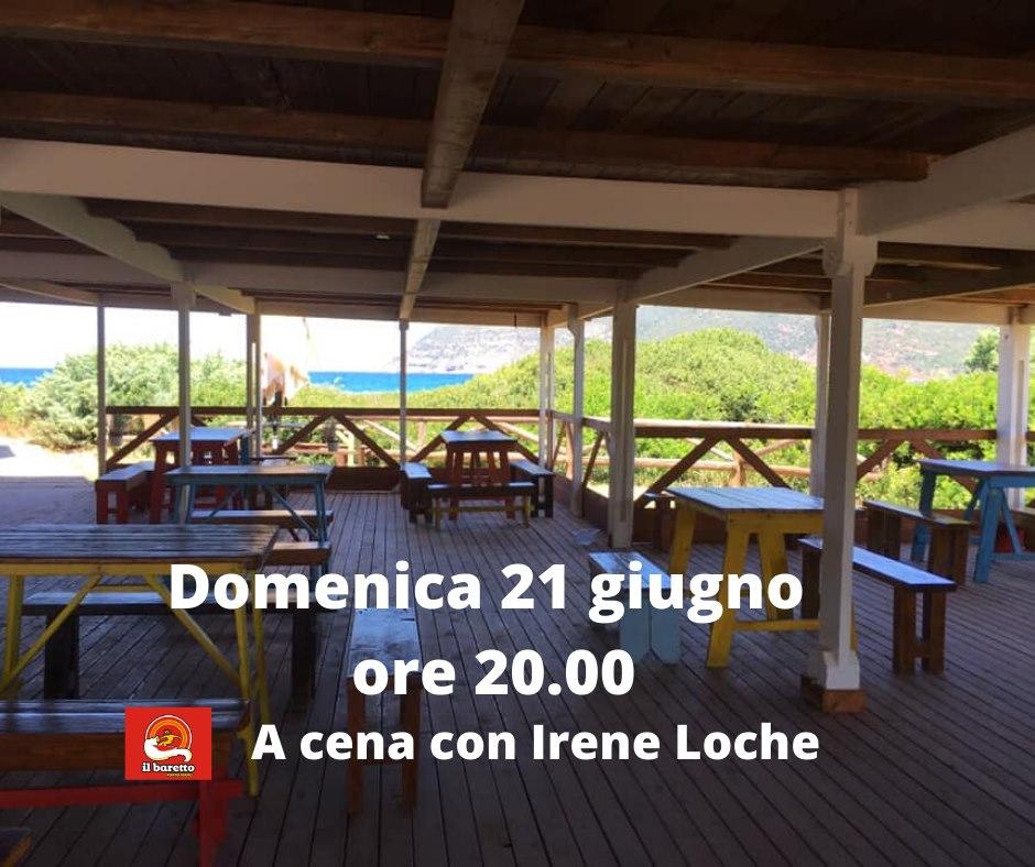 Irene Loche - Festa della Musica - Baretto Porto Ferro - Sassari - eventi - 2020 - Sa Scena Sarda