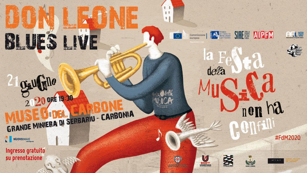 Don Leone - Donato Cherchi - Matteo Leone - live - Festa della Musica - Csc Società Umanitaria - Carbonia - Iglesias - eventi - 2020 - Sa Scena Sarda