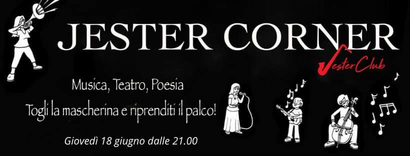 Jester Corner - Jester Club - Cagliari - eventi - 2020 - Sa Scena Sarda