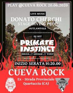 Play - Primate Instinct - Cueva Rock - Quartucciu - eventi - 2020 - Sa Scena Sarda