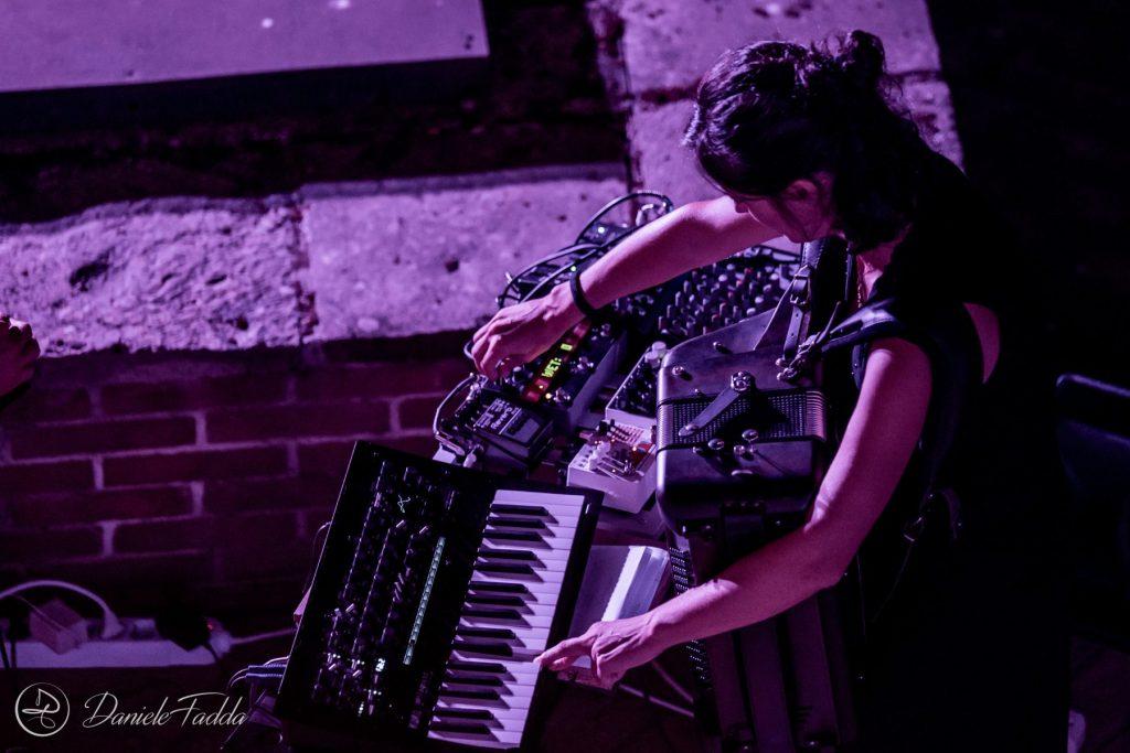 Miniere Sonore - Kevlar+ - Daniele Fadda - foto report - festival - 2020 - Sa Scena Sarda - 28 Agosto 2020