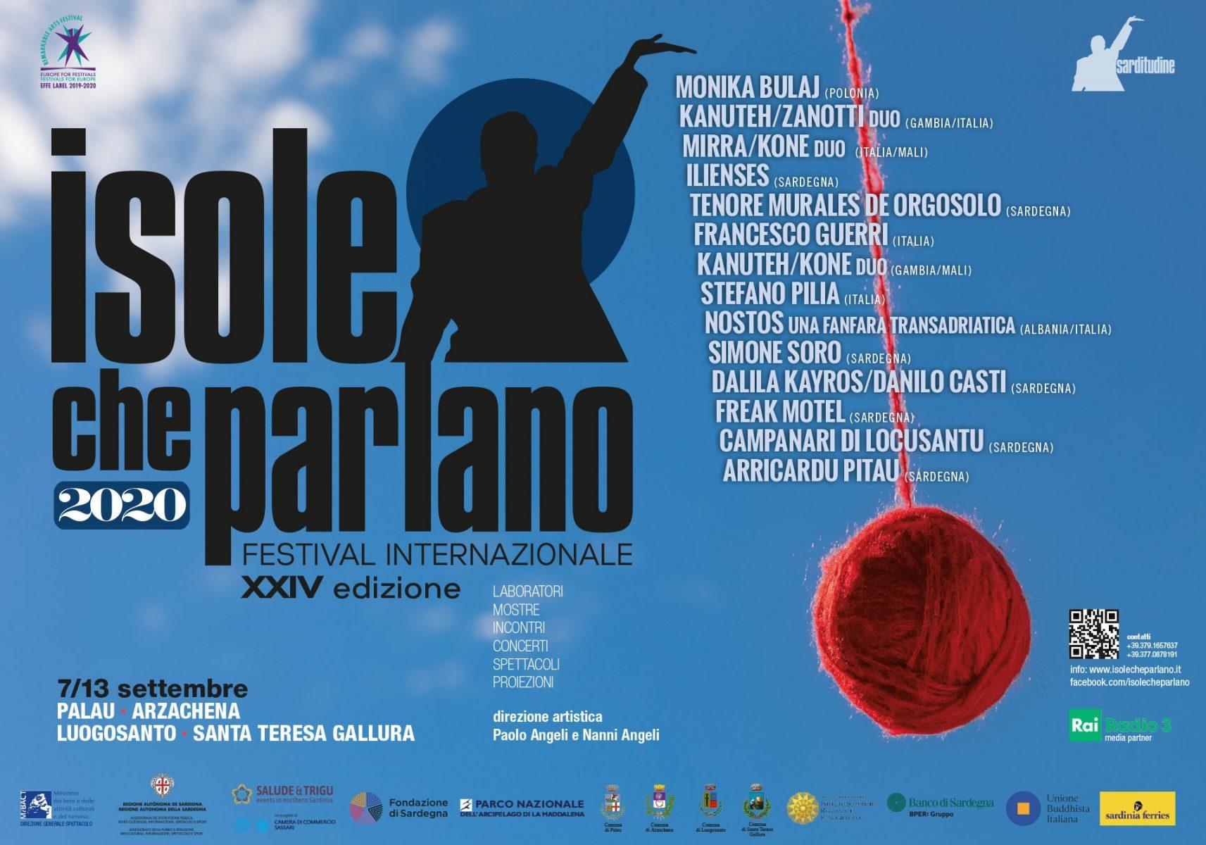 Isole che Parlano - Paolo Angeli - Nanni Angeli - Isole che Parlano di Musica - festival - Palau - 2020 - Sa Scena Sarda